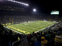 Wide Angle Shot of Autzen