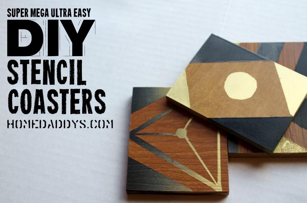 Easy DIY Coasters - HomeDaddys.com